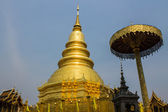 Golden Chedi which is a major place of worship — Stock Photo