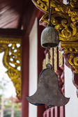 Bronze bell in the temple — Stock Photo