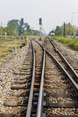 Railroad, Chaingmai - Bangkok — Stock Photo