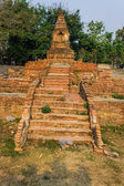 Old Chedi in Wiang Kum Kam, Ancient City — Zdjęcie stockowe