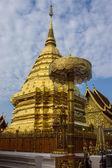 Wat Phrathat Doi Suthep temple in Chiang Mai, Thailand — Stock Photo