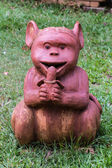 Thai sculpture of monkey — Stock Photo