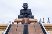 Blessing Luang Pu Thuat statue — Stockfoto