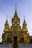 Chedi in Wat Kamat in Chomthong , Chiangmai Thailand — Stock Photo