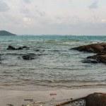 Beach at the sea , Rayong Thailand — Stock Photo