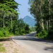 Countryside road in Thai — Stock Photo