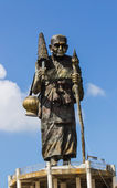 Luang Pu Thuat statue in wat Maetakrai — Stock Photo
