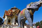 Monument of King Naresuan — Stock Photo