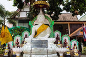 Buddha statue name phra jou tan jai — Stock Photo