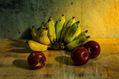 Apple And Banana still life — Foto de Stock