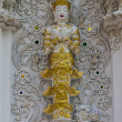 图库照片: Art of Thai Buddhism church