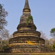 Stock Photo: Chedi old in Wat Umong