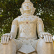 Stock Photo: BuddhStatues in Wat PrSang Ngam