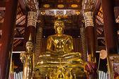 Buddha statue in Chedi, Wat Lokmolee — Stock Photo