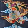Stock Photo: Thai Mural painting in Wat Doi TPra