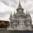 Stock Photo: Chedi in Wat Kongkaw in Doi Lo , Chiangmai Thailand