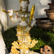 Thai angel in Wat Pra That Chomthong vora vihan — Stock Photo