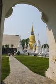 View Wat suandok Form The Door — Stock Photo