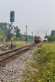 Train from bangkok to Chiangmai — Stock Photo