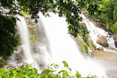 Wachirathan waterfalls , Inthanon Chiangmai Thailand — Stock Photo
