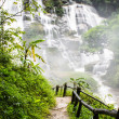 Stock Photo: Wachirathwaterfalls , Inthanon Chiangmai Thailand