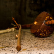 Still Life - Thai musical instrument — Stock Photo