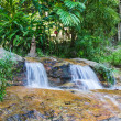 Stock Photo: Waterfall in Doi Suthep - Pui , Wat Phalad in Chiangmai Thailand