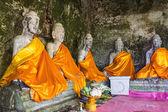 Old Buddha Statues, Wat Pha lat, Chiangmai Thailand — Stock Photo