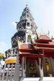 Pagoda in Wat Kru Toa , Chiangmai Thailand — Stock Photo