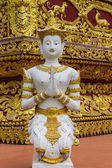 Angels Statue Thai temple — Stock Photo