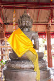 Buddha Nine Head Statue in Thai Temple — Stockfoto