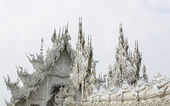 Wat Rong Khun , Thailand White Temple Chiang Rai Province — Stock Photo