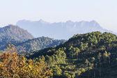 Doi Luang Chiang Dao, View Form Wianghaeng Chiangmai Thailand — Stock Photo