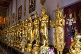Shin Upagutta, Phra Siam Deva Dhi raj With Buddha Statue — Stock Photo