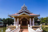 Chapel Shan Style in Wat Nong Kok Kam, Wianghaeng Chiangmai Thai — Photo