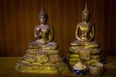 Zátiší s socha buddhy — Stock fotografie