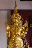 Phra Siam Deva Dhi raj Statue In Wat Ban den Temple Maetang Chiangmai — Stock Photo