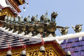 Swan Gable Apex in Thai temple — Stockfoto