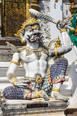 Giant Statue in Thai Temple — Stock Photo