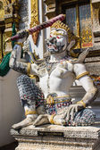 Giant Statue in Thai Temple — Stockfoto