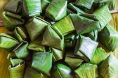 Dessert Banana leaf wrap, Thai style — Stock Photo