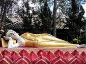 Thai Reclining Buddha Statue — Foto de Stock