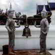 Thai Angel Statue with Bell — Stock Photo #48580669