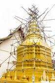 Repair the pagoda — Stock Photo