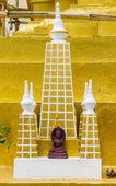 Mahabodhi Pagoda Model — Stockfoto