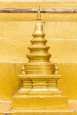Prathat Chaehang pagoda model — Stock Photo