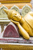 Thai Reclining Buddha Statue — Stock Photo
