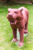 Tiger statue — Stock Photo