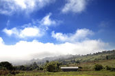 Summer landscape mountains and blue sky at pai ,MaeHongSon Thailand. — Stock Photo