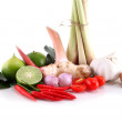 "Stock Photo: Asiherb and spicy ""Tom Yum"" ingredients food"